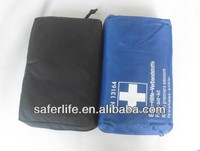 2016 Hot sale 25*15.8*7cm DN13164 Germany standard auto car first aid tool kit travelling roadside emergency survival sets