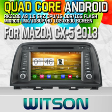 Witson S160 Android 4.4 Car DVD GPS For MAZDA CX-5 2013 with Quad Core Rockchip 3188 1080P 16g ROM WiFi 3G