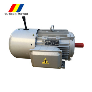 Brake ac magnetic motor electric