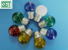 small decoration bulb G40 ball bulb red blue green yellow white