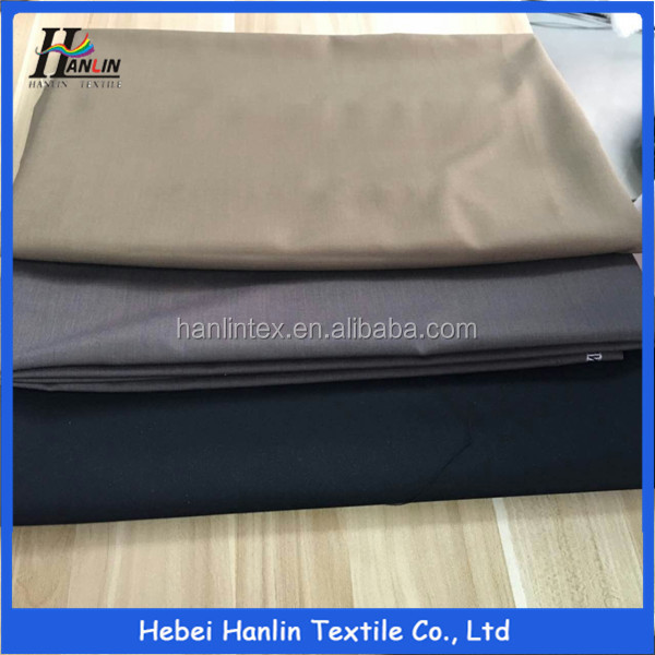 Cheap price basic 230grams TR solid men's suiting fabric