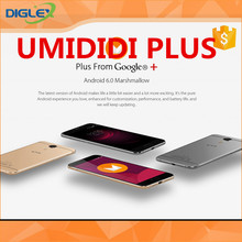 Wholesale UMI PLUS 5.5inch FHD 2.5D LTE Android 6.0 Smartphone MT6755 Helio P10 Octa Core 4GB 32GB 13.0MP 4000mAh Fast Charge