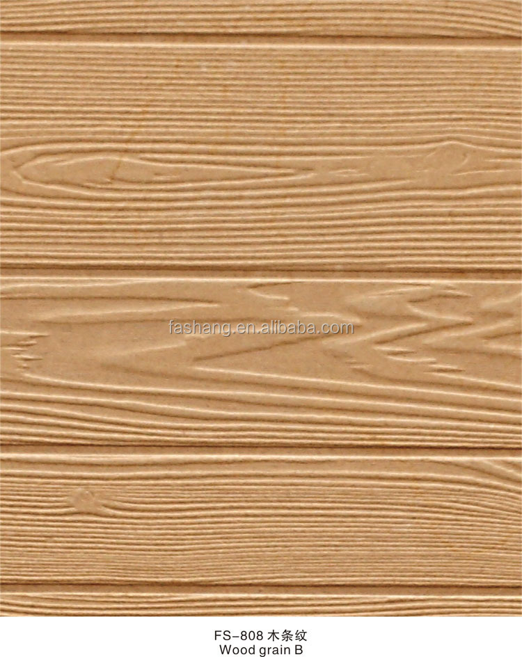 Wholesale FS-808 New wood grain 3d wooden wall panels
