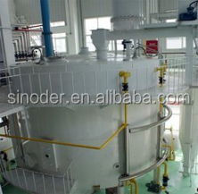100T/D peanut oil cake solvent extractor with rotocel extractor, DTDC desolventizer toaster,miscella tank 1st ,condenser