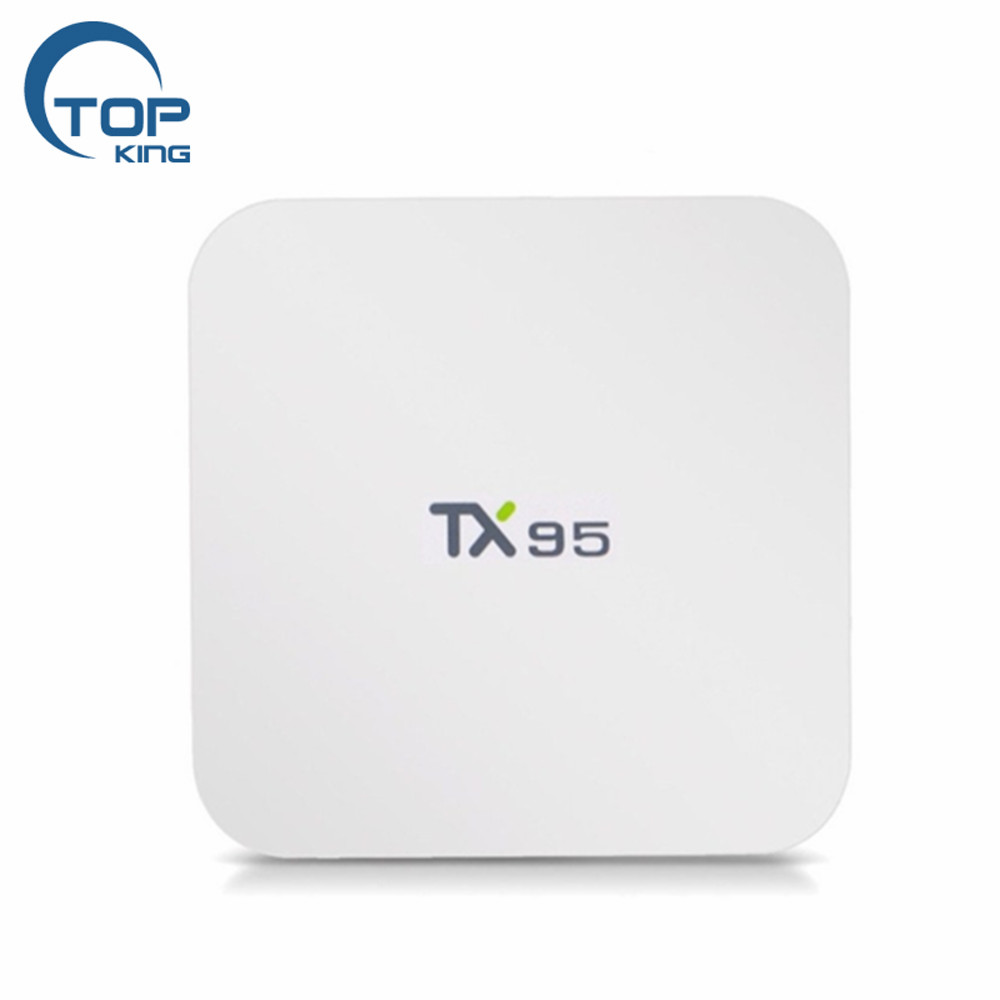 2018 White color dual band wifi s905W TX95 2g 16g Android 7.6 TV Box TX95
