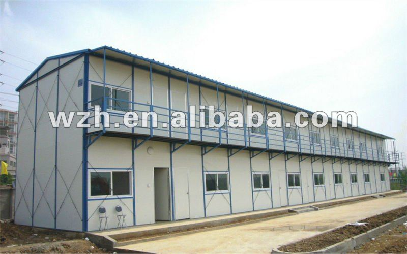 Steel Base Modular Prefabricated Dormitory/prefabricated building for dormitory/easy assemble dormitory