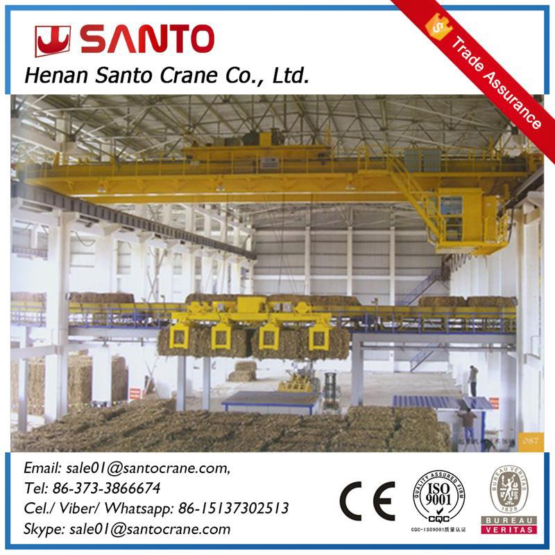 Multifunctional Double Girder Magnetic Lifting Crane with Low Price