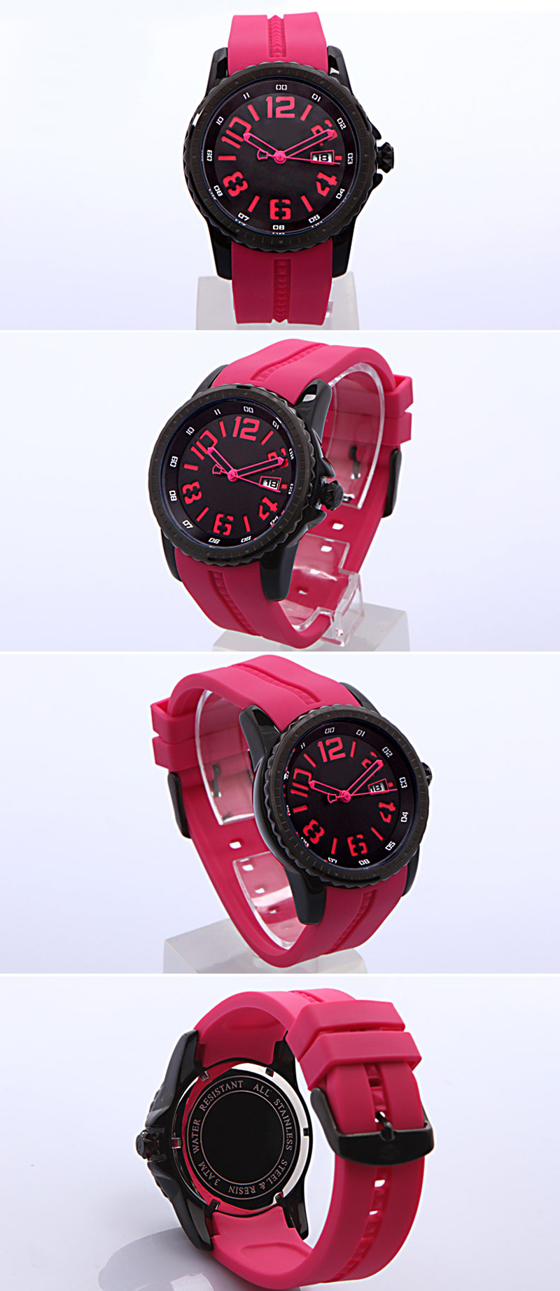 Assisi brand Leather band promotional wrist watch, fashion watch