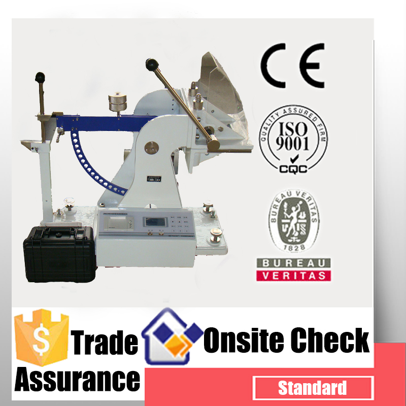 Digital type paperboard puncture strength testing machine