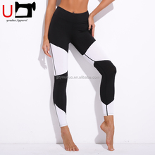 Custom Active Wear Black white Fitness Ladies Running Yoga Women Gym Wholesale Blank Jogger Pants