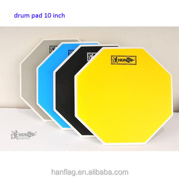 percussion accessories 10 inch drum practice pad factory Sell