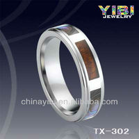 KOA Inlaid Tungsten Ring Tat Rings Alibaba Jewelleries