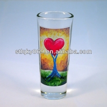 China manufacture Banquet decorating ideas led shot glass with rainbow color new products rainbow shot glass