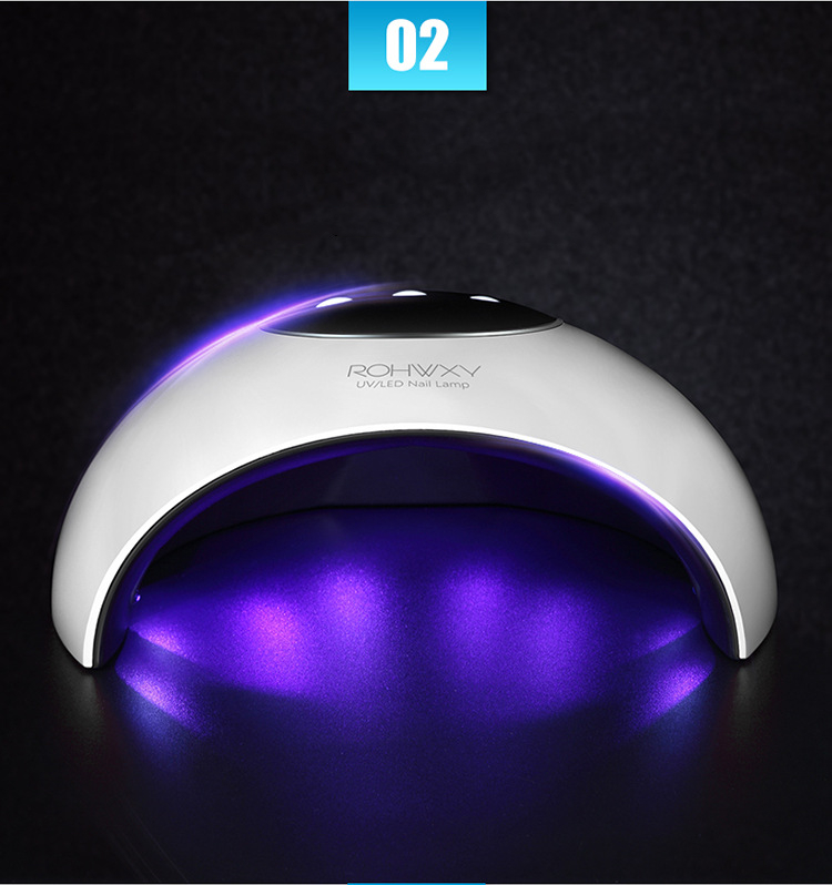 24W UV LED USB Nail Table Lamp Dryer with Beads for Nail Beauty Tool