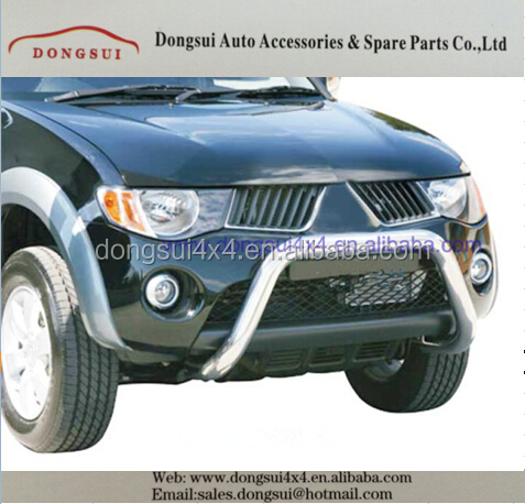 rear skid bar,rear bumper ,sport bar for Mitsubishi Triton 2015+