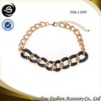 Light weight gold chain jewellery with gold-plated ornaments women plated in gold online shop china