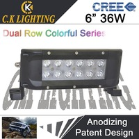 Dual row cree 36w led light bar