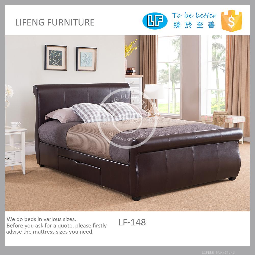 Top quality bed set furniture with American style LF-148