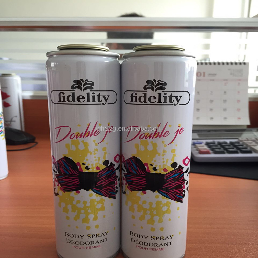 Fidelity Body Deodorant Series Iron Bottle/Steel Bottle Tin Box
