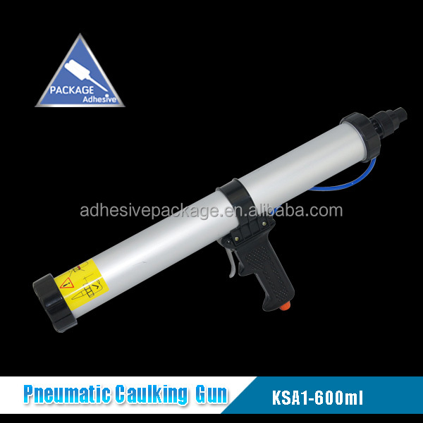 Aluminum 600ml Sausage Caulking Gun For Silicone Sealant