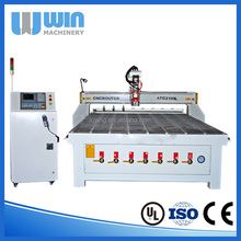 ATC 3D CNC Wood Carving Machine Used in Woodworking Industry