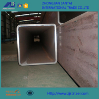 50*50 Low carbon black steel seamless square pipe