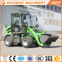 compact 800kg small wheel loader zl08 with forklift