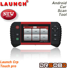 Newest!! Launch crp touch pro code reader for electronic parking brake & steering angle & oil lights &DPF & TPMS runs on Android