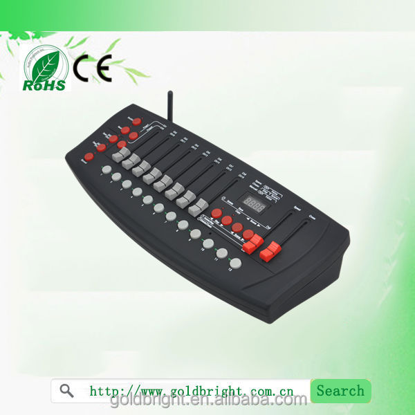 2014 new wireless DMX512 192CH controller battery powered light controller dj Midi Controller