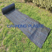 hotsale agricultural weed mat ground cover /plastic pp woven weed control fabric