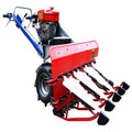 Hot sale High productivity small Rice reaper binder harvest machine