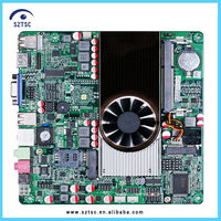 Intel Atom D2700 dual core 2.13GHz 2COM WiFi 3G Supported DC 12V Motherboard