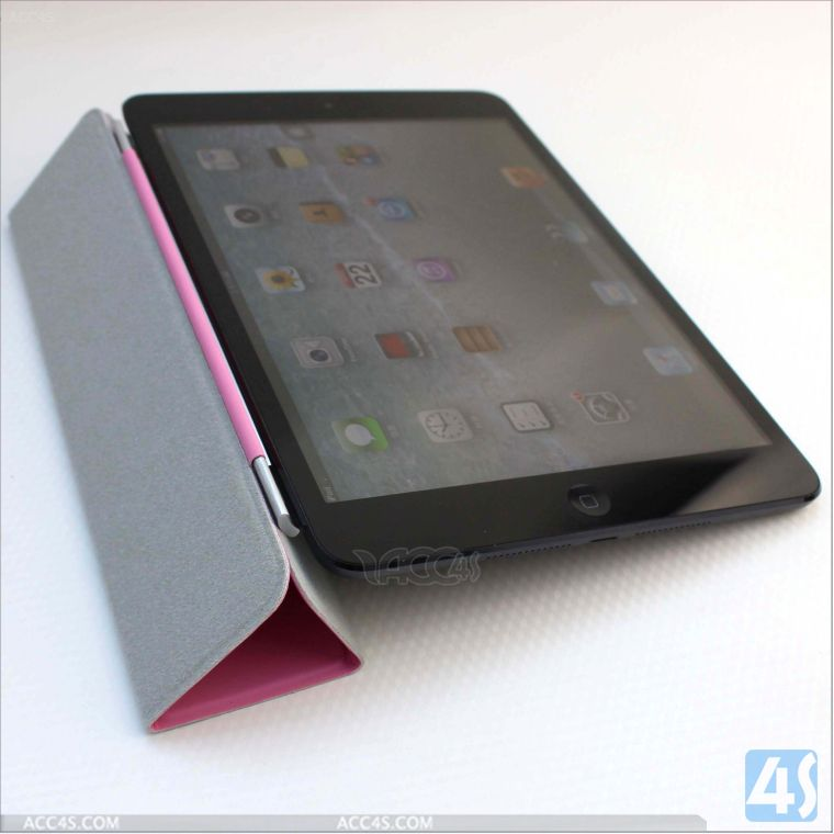 Luxury Leather Smart Case Stand Cover for Apple ipad mini New ipad mini 2 P-IPDMINIiiCASE014