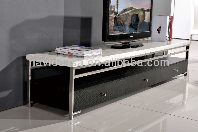 CT8072 Wooden Tv stand pictures in India