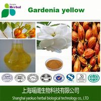 Organic water soluble natural gardenia yellow pigment food color