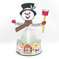 Paper Magician growing snowman