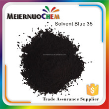 factory price plastic powder dyes solvent blue 35