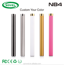 Alibaba newest design automatic buttonless 510 thread vape pen preheat battery bottom LED design