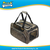 New Fashion Leopard Pattern Pet Carrier Bag