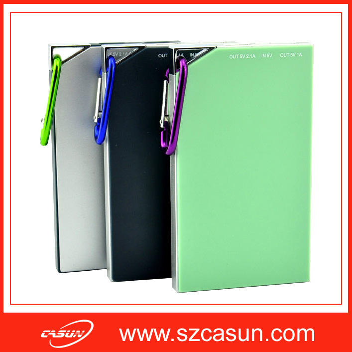 Wholesale cheap 5000mah power bank fit for cell phone/camera