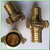 Nakajima brass hose adapter female male thread