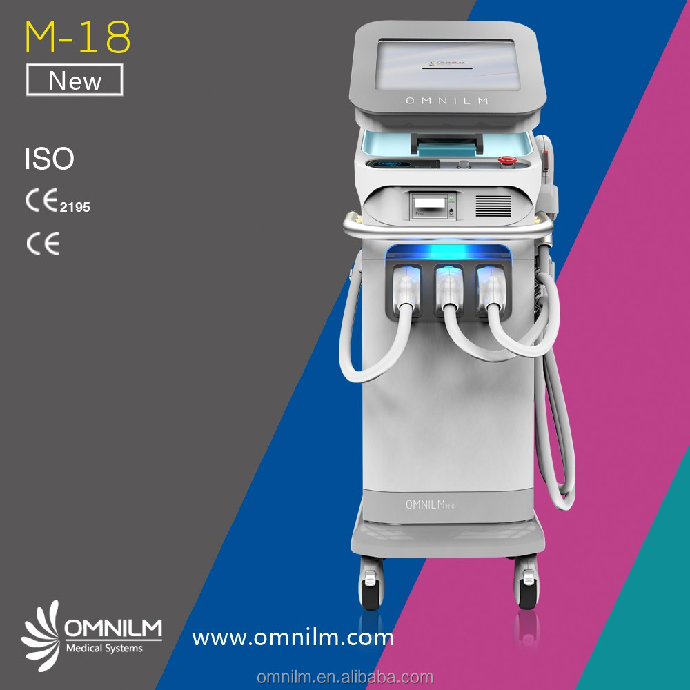 Shr Laser Hair Removal and Tattoo Removal Multifunction Machine