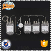 high quanlity single double triple quadruple blood bag