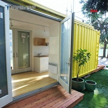 Prefabricated Container House With Kitchen Bathroom Flat Pack 40' container house