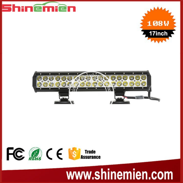 108w Auto Led Work Light for Industrial,Commercial and Civilian utility vehicle