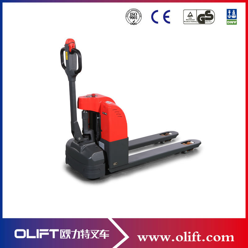 1.5 ton battery operated capacity mini electric motor pallet jack(with CE)