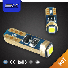 Automobile T5 1SMD 3030 Car led instrument light,width lamp for car and motorcycle