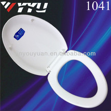 PP material soft close v shape toilet seat 1041