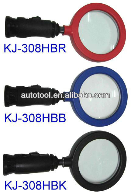 Magnetic 14 LED Light With 3x Magnifying glass