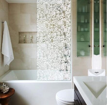 pet shower door glass decorative window film